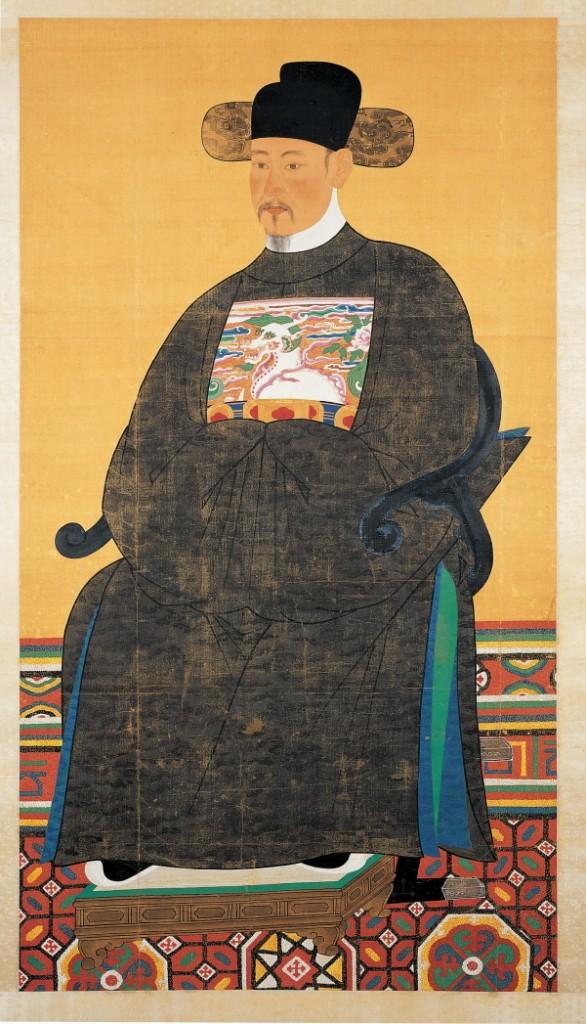 Portrait  of  Yi Jung-Ro