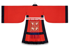 Officials' Ceremonial Attire, Red Jobok